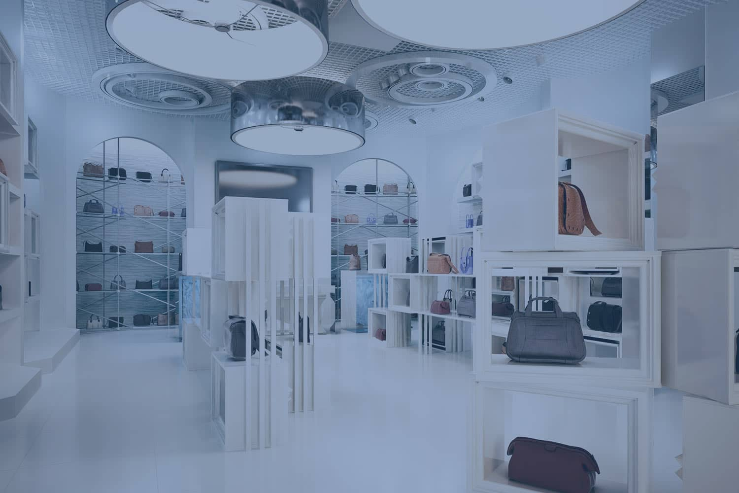 Modern store for accessories